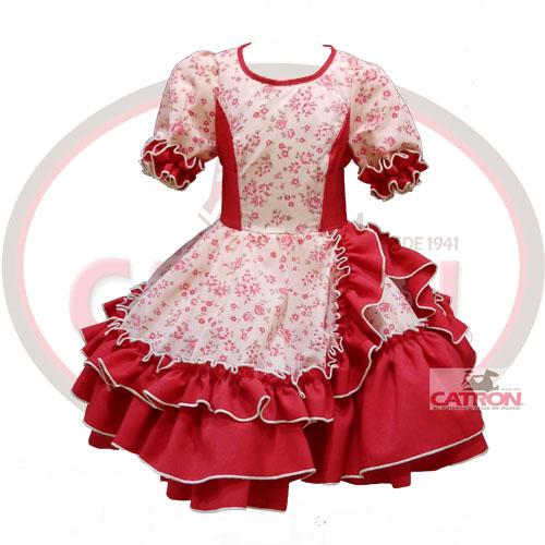 Vestido de huasa elegante para nina